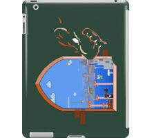 Our Hero Approaches (Green Background) iPad Case/Skin