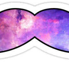 Mustache Galaxy Sticker