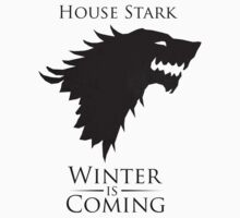 Game Of Thrones - Winter Is Coming: House Stark by Jonald