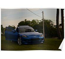 Mazda RX-8 Poster