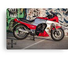 Kawasaki GPZ900R Canvas Print
