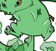 Plant Elemental Kitsune Sticker
