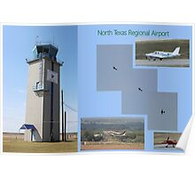 North Texas Regional Airport Poster