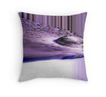 Alien Landing Throw Pillow
