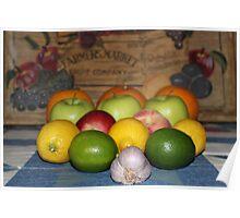 Fruit Math Poster