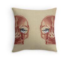 CANTO DE GOLONDRINAS COMO METAL CRUDO (vr.3) Throw Pillow