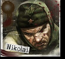 nikolai poster by iaminthehouse