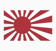 Rising Sun Flag of Japan by sweetsixty
