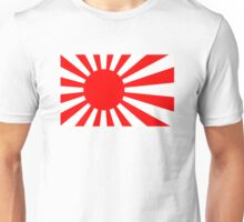 Rising Sun Flag of Japan Unisex T-Shirt