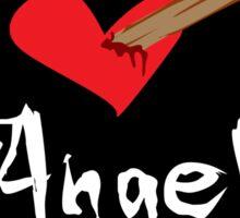 I Heart Angel Sticker