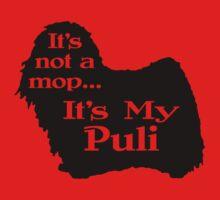 Puli Not A Mop Kids Tee