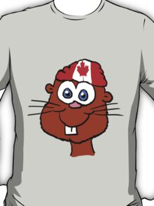 Canada Day Beaver  T-Shirt