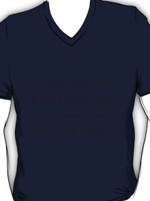 Gilmore-ism #523: The Yale Mattress T-Shirt