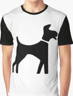Dog Symbol Graphic T-Shirt