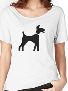 Dog Symbol Women's Relaxed Fit T-Shirt