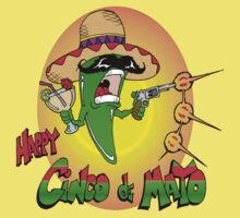 Happy Cinco de Mayo Baby Tee