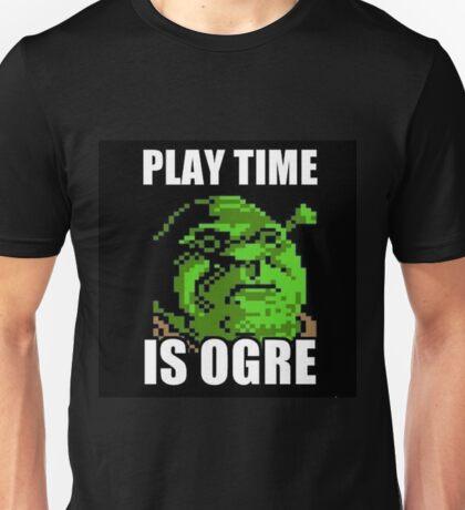 Shrek - Playtime is ogre Unisex T-Shirt