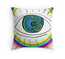 Le G8 sous l'oeil de surveillance Throw Pillow