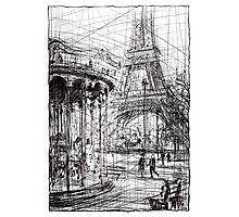 Paris 9 Photographic Print
