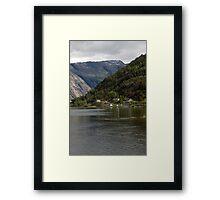 Norwegian Fjord Framed Print