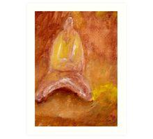 entering stillness Art Print