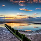 Sunset Reflections by Adrian Evans