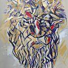 Christ Abstract by Reynaldo