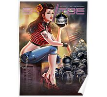 SheVibe Bomb Girl Cover Art Poster