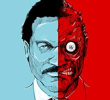"Harvey ""Two Face"" Dent by kagcaoili"