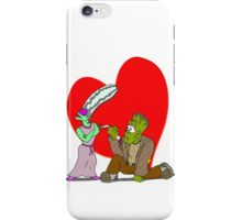 Monster Proposal iPhone Case/Skin