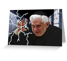 Palpatine Pope Greeting Card