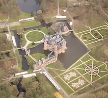 Haar Castle From the Air by theBFG