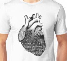 Binary Heart  Unisex T-Shirt