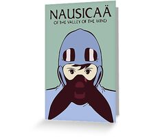 Nausicaå of the Valley of the Wind Greeting Card