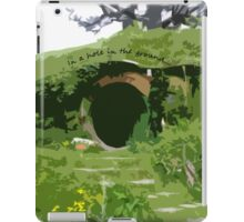 In a hole in the ground... iPad Case/Skin