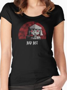 Bad Bot Women's Fitted Scoop T-Shirt