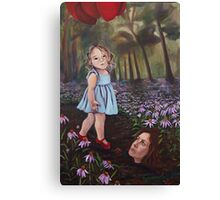 Red Ballons  Canvas Print