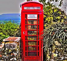 Phone Box in Rural England by indiemod