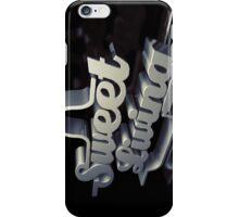 sweet living iPhone Case/Skin