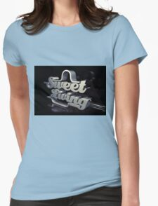 sweet living Womens Fitted T-Shirt