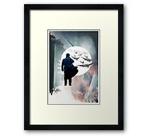 Falling Is Just Like Flying Framed Print