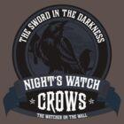 Night's Watch Crest by liquidsouldes