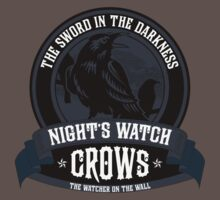 Night's Watch Crest Kids Clothes