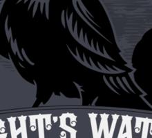 Night's Watch Crest Sticker