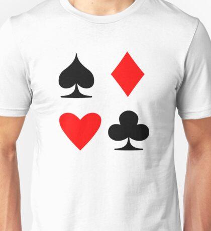Poker Suite Unisex T-Shirt