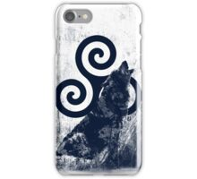 Triskele and Wolf iPhone Case/Skin