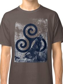 Triskele and Wolf Classic T-Shirt