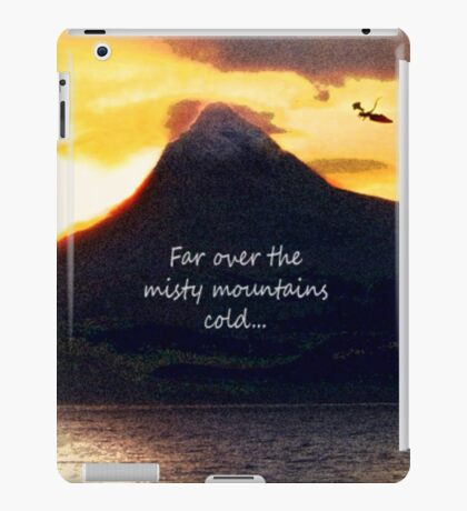 Misty Mountains iPad Case/Skin