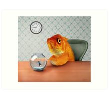 A Fish Out of Water Art Print