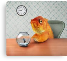 A Fish Out of Water Metal Print